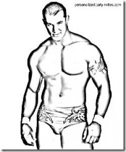 WWE clipart randy orton