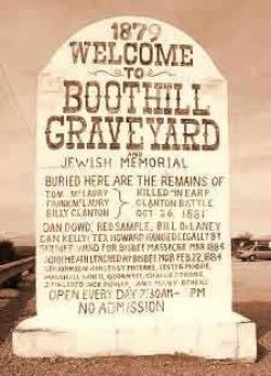 Wyatt Earp clipart graveyard