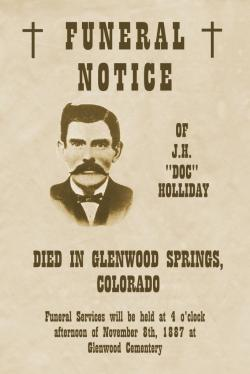 Wyatt Earp clipart rest in peace