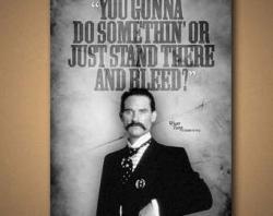 Wyatt Earp clipart tombstone cross