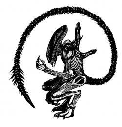 Xenomorph clipart