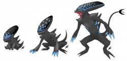 Xenomorph clipart dragon