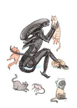 Xenomorph clipart genetic