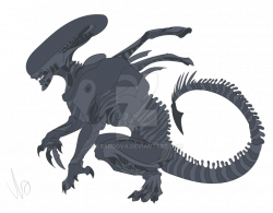 Xenomorph clipart transparent