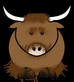 Head clipart yak