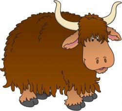 Animl clipart yak