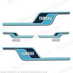 Yamaha clipart blue line