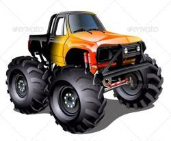 Hot Wheels clipart monster truck tire