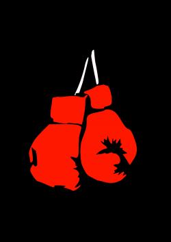 Boxer clipart vector