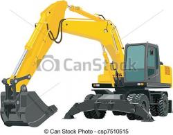 Excovator clipart excavation