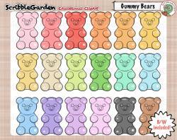 Gummy Bear clipart killer