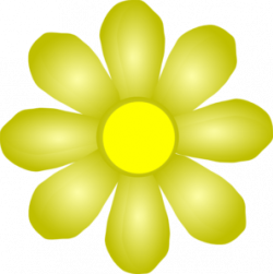 Yellow Flower clipart