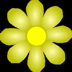 Yellow Flower clipart