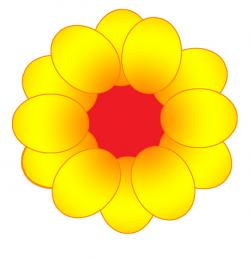Buttercup clipart one flower