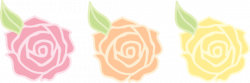 Yellow Rose clipart pastel flower