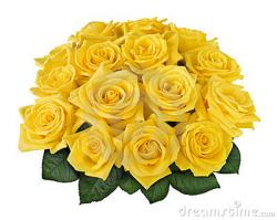 Yellow Rose clipart yellow bouquet