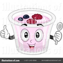 Yogurt clipart pink