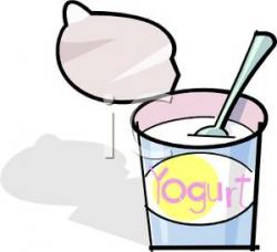 Yogurt clipart yoghurt