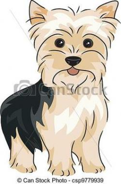 Yorkies clipart animated