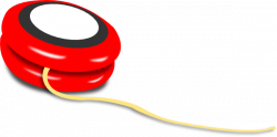 Red clipart yoyo