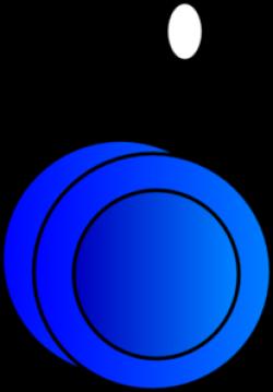 Blue clipart yoyo