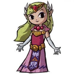 Zelda clipart cartoon
