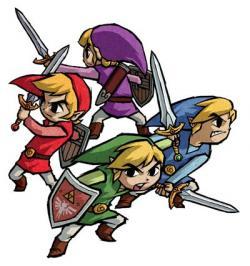 Zelda clipart four sword