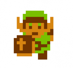 Zelda clipart original link legend