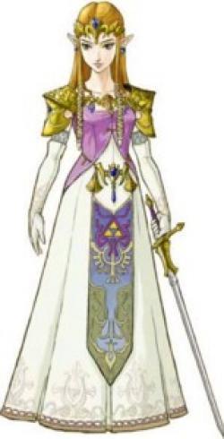 Zelda clipart princess zelda