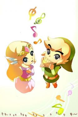 Zelda clipart spirit track