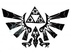 Zelda clipart tribal