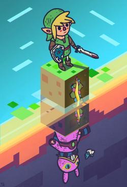 Zelda clipart zelda a link between world