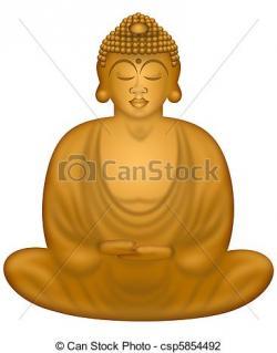 Buddha clipart zen