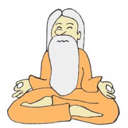 Zen clipart sage