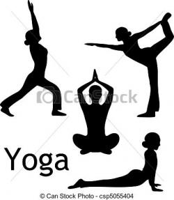 Drawing clipart yoga