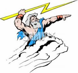 Mythical clipart zeus