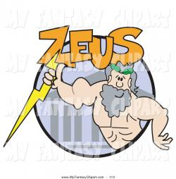 Zeus clipart muscular