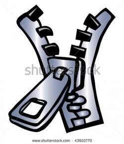 Zipper clipart cartoon