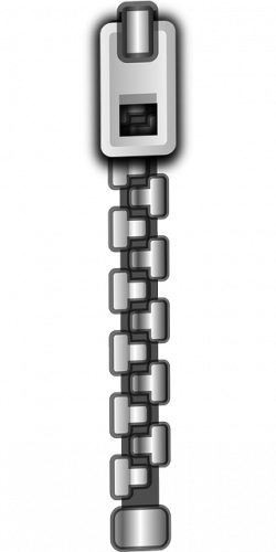 Zipper clipart transparent