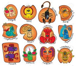 Zodiac Sign clipart horoscope