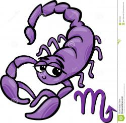 Cute clipart scorpion