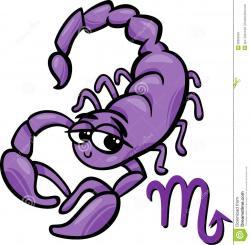Cute clipart scorpion