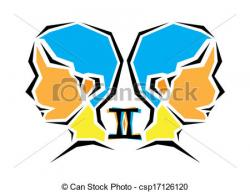 Zodiac Sign clipart twins