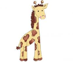 Giraffe clipart zoo animal