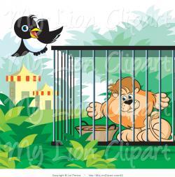 Cage clipart lion cage