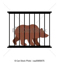 Cage clipart zoo cage