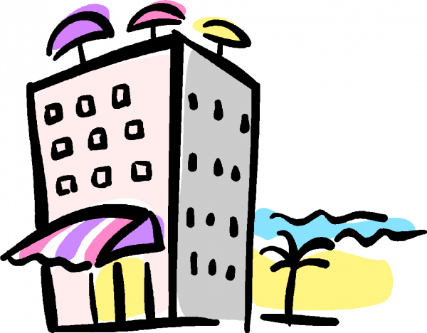 Resort clipart hospitality and tourism